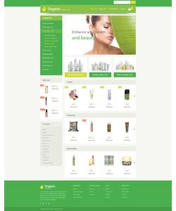 OpenCart e-shop šablona na téma Krása č. 54591
