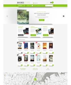OpenCart e-shop šablona na téma Knihy č. 54657
