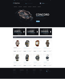OpenCart e-shop šablona na téma Móda č. 54691