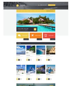 OpenCart e-shop šablona na téma Cestování č. 54745