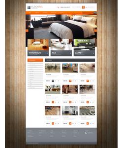OpenCart e-shop šablona na téma Interiér a nábytek č. 54855