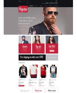 OpenCart e-shop šablona na téma Móda č. 54890