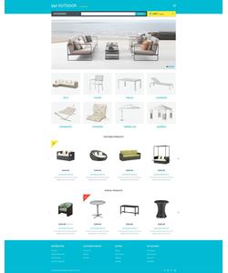 OpenCart e-shop šablona na téma Interiér a nábytek č. 54948