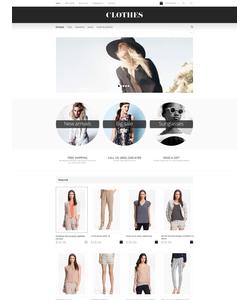 OpenCart e-shop šablona na téma Móda č. 55014