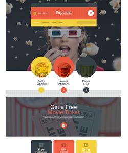 OpenCart e-shop šablona na téma Jídlo a pití č. 55039
