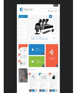 OpenCart e-shop šablona na téma Bezpečnost č. 55040