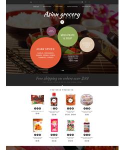 OpenCart e-shop šablona na téma Jídlo a pití č. 55184