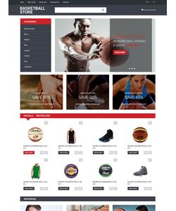 OpenCart e-shop šablona na téma Sport č. 55188