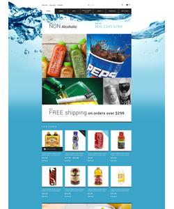 OpenCart e-shop šablona na téma Jídlo a pití č. 55261