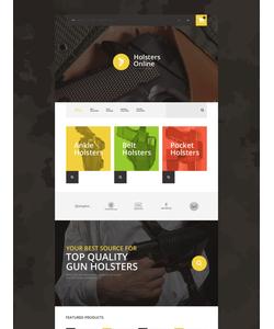 OpenCart e-shop šablona na téma Vojenské č. 55382