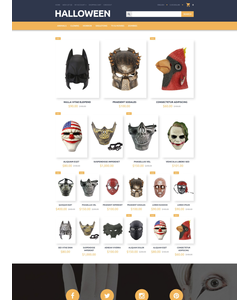 OpenCart e-shop šablona na téma Halloween č. 55452