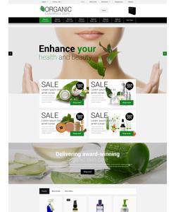 OpenCart e-shop šablona na téma Krása č. 55466