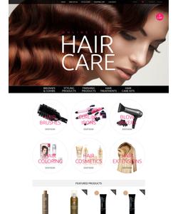 OpenCart e-shop šablona na téma Krása č. 55617
