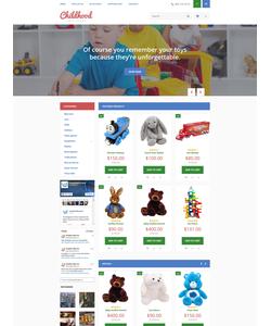 OpenCart e-shop šablona na téma Zábava č. 55727