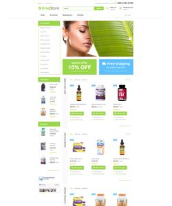 OpenCart e-shop šablona na téma Lékařské č. 55729