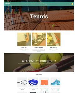 OpenCart e-shop šablona na téma Sport č. 55799