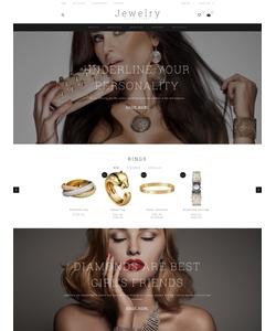 OpenCart e-shop šablona na téma Šperky č. 55818