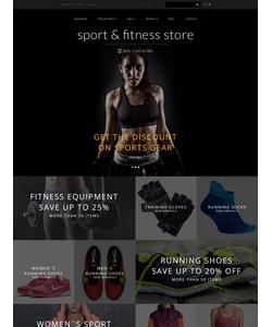 OpenCart e-shop šablona na téma Sport č. 55950