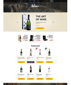 OpenCart e-shop šablona na téma Jídlo a pití č. 57580