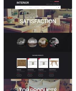 OpenCart e-shop šablona na téma Interiér a nábytek č. 57605