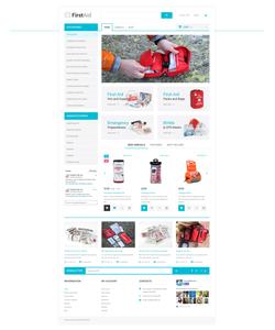 OpenCart e-shop šablona na téma Lékařské č. 57732