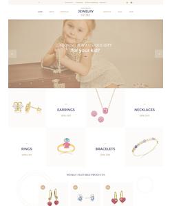 OpenCart e-shop šablona na téma Šperky č. 57739