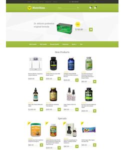 OpenCart e-shop šablona na téma Lékařské č. 57773