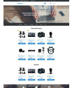 OpenCart e-shop šablona na téma Elektronika č. 57976