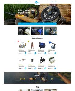 OpenCart e-shop šablona na téma Sport č. 58127
