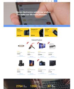 OpenCart e-shop šablona na téma Elektronika č. 58140
