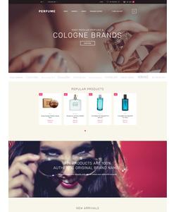 OpenCart e-shop šablona na téma Krása č. 58164