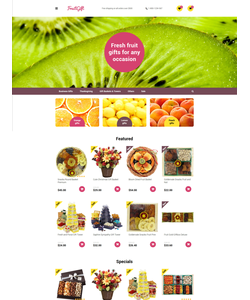 OpenCart e-shop šablona na téma Dárky č. 58166
