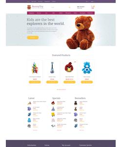 OpenCart e-shop šablona na téma Zábava č. 58451