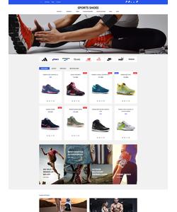 OpenCart e-shop šablona na téma Sport č. 59089