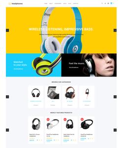 OpenCart e-shop šablona na téma Hudba č. 59129