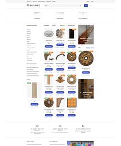 OpenCart e-shop šablona na téma Průmysl č. 60031