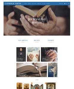 OpenCart e-shop šablona na téma Náboženství č. 60035