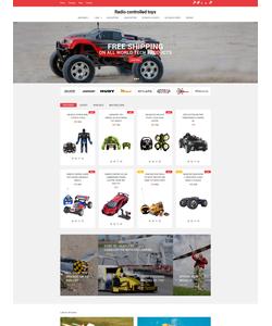OpenCart e-shop šablona na téma Zábava č. 61280