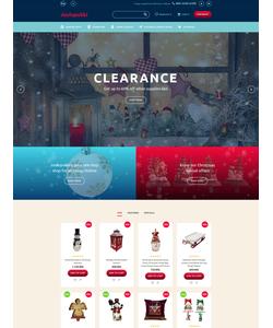 OpenCart e-shop šablona na téma Vánoce č. 62134