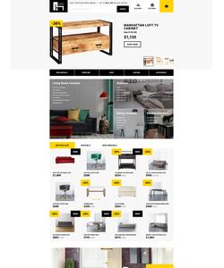 OpenCart e-shop šablona na téma Interiér a nábytek č. 62166