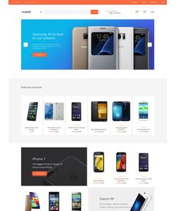 OpenCart e-shop šablona na téma Elektronika č. 62184