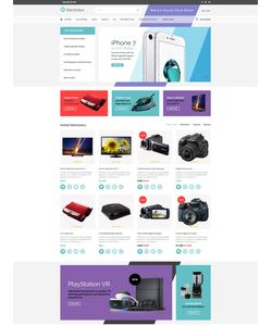 OpenCart e-shop šablona na téma Elektronika č. 62224