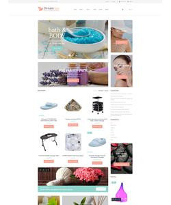 OpenCart e-shop šablona na téma Krása č. 62233