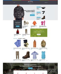 OpenCart e-shop šablona na téma Móda č. 62322