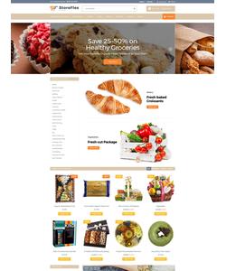 OpenCart e-shop šablona na téma Jídlo a pití č. 63371