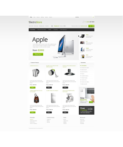 OpenCart e-shop šablona na téma Elektronika č. 39721