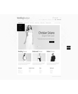 OpenCart e-shop šablona na téma Svatby č. 39722