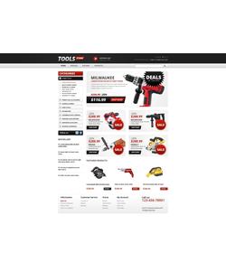 OpenCart e-shop šablona na téma Nástroje a vybavení č. 39945