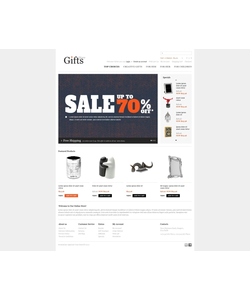 OpenCart e-shop šablona na téma Dárky č. 40223