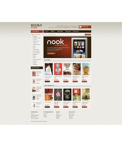 OpenCart e-shop šablona na téma Knihy č. 40408